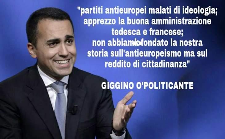 GIGGINO O'POLITICANTE, L'ORDOLIBERISTA CHE AMMIRA MERKEL E MACRÓN (Bersani 2.0)