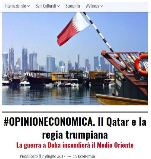 Ofcs.report: l'isolamento di Doha per combattere il terrorismo, ma anche per cambiare lo status quo. Le enormi conseguenze economiche