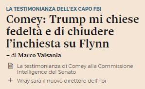 Encore, il sospetto di fake news contro Donald Trump in USA (ed anche in Italia?). L'interessante caso del Sole 24 Ore