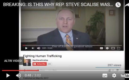Il ferimento di Steve Scalise, il parlamentare USA colpito in Virginia in un campo da baseball, forse legato allo scandalo sulla pedofilia a Washington!
