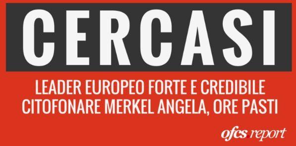 AAA cercasi leader forte per l'Europa (OFCS)