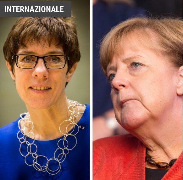 Germania, il dopo Merkel si chiama AKK: Annegret Kramp-Karrenbauer ANGELA NON PIACE PIÙ, SOPRATTUTTO DA QUANDO HA APERTO AI PROFUGHI SIRIANI