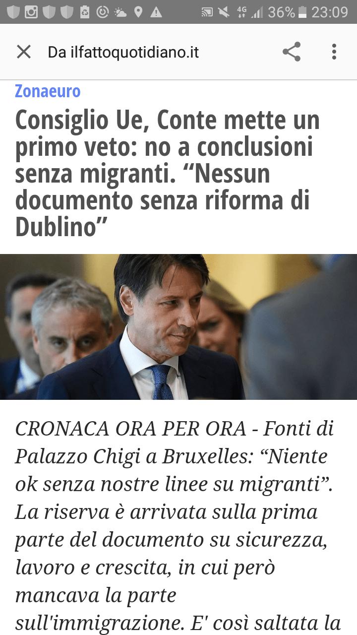 Finalmente è l'interesse dell'Italia a fare da rotta maestra in Europa (di Giuseppe PALMA)