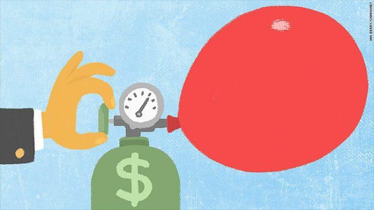 La bolla del denaro facile predispone un crash dei bond rischiosi, eccezionalmente diffusi. Parola di FMI