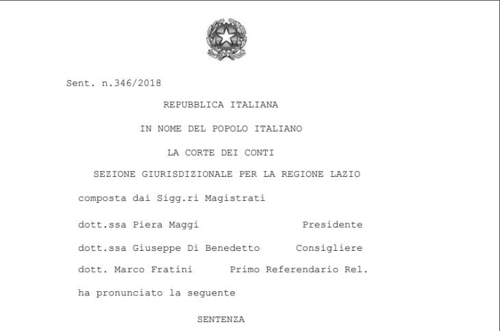 ALFONSO SCARANO e DANIELE MAFFEIS Commentano la recente SENTENZA BOMBA sui Derivati Finanziari  sottoscritti dallo Stato Italiano