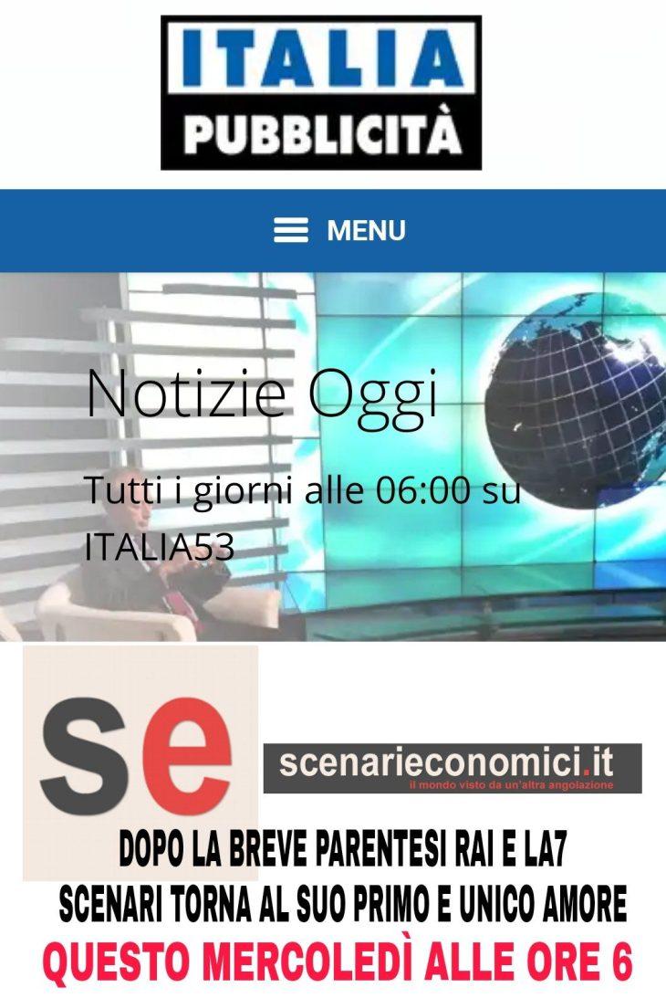 DOMATTINA GUSTINICCHI – ORE 6 – A CANALE ITALIA (L'ULTIMA TV GUARDABILE)