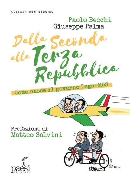 Sabato 22/9 Giuseppe Palma presenta a Ferrara il suo ultimo libro, scritto insieme a Paolo Becchi, con Prefazione di Matteo Salvini…