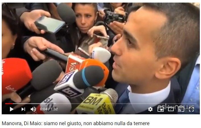 Di Maio e Salvini hanno ragione: questa manovra fa bene agli italiani e male all'asse franco-tedesco. Il governo deve fare gli interessi degli italiani e non dei residenti di Berlino e Parigi!