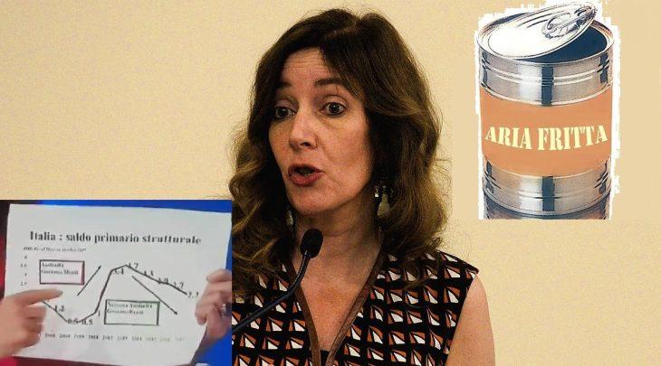 La campionessa delle fake news economiche: Veronica De Romanis