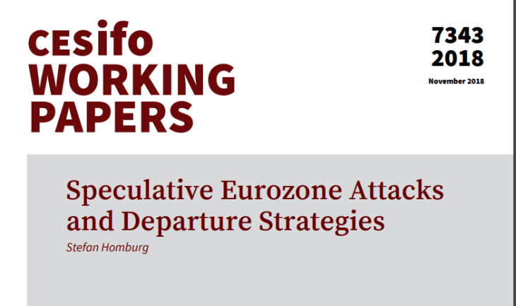 Il piano B tedesco, questa volta ufficiale: analisi delle conseguenze dell'uscita per Germania ed Italia