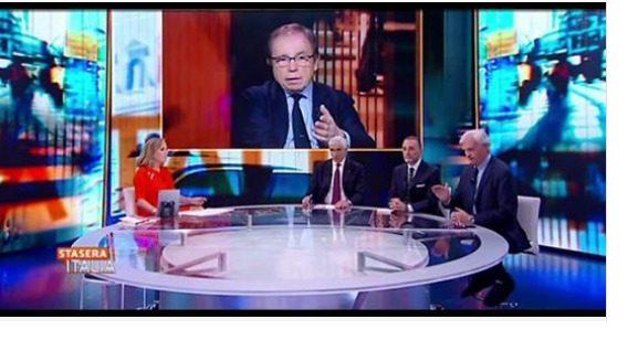 Rinaldi a Stasera Italia:  Spread, Tav, Fondi Pensione e solidarietà coi francesi.