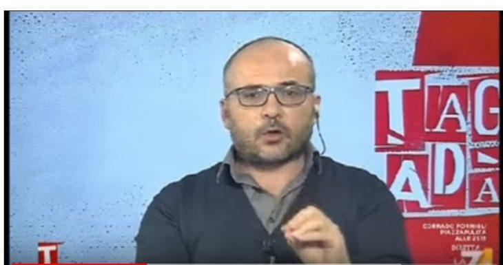 Fabio Dragoni a Tagadà contro le balle sulla Sanità e sull'Euro
