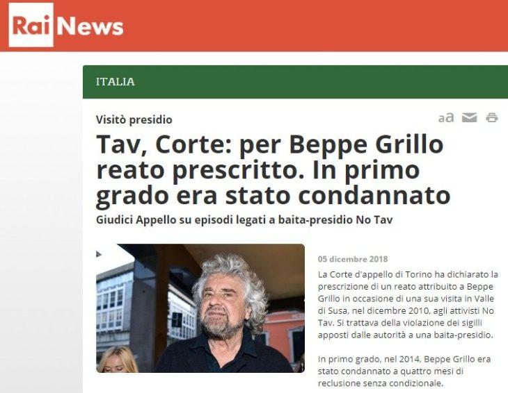 """Quando i cd. """"riformatori"""" rischiano di fare disastri: il caso di Beppe Grillo, la riforma della prescrizione e la giustizia italiana (che funziona peggio di quella Thailandese?)"""