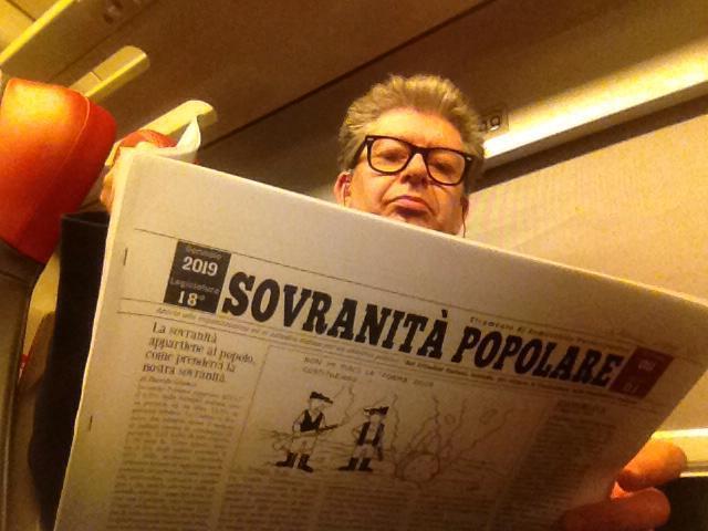 """Il giornale che tutti aspettavamo, il giornale partecipato dal basso è arrivato. LA NUOVA RIVISTA """"SOVRANITA' POPOLARE"""""""