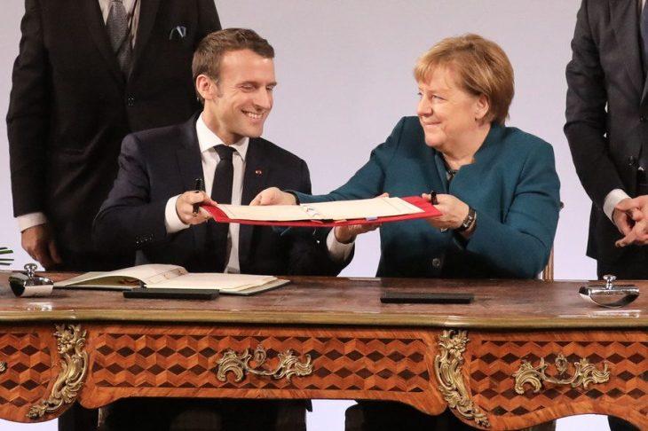 Nuovo Trattato di egemonia Franco-Tedesca, Aquisgrana 22 /1/19