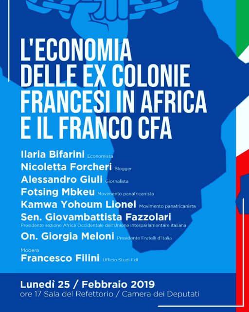 Convegno sul franco CFA