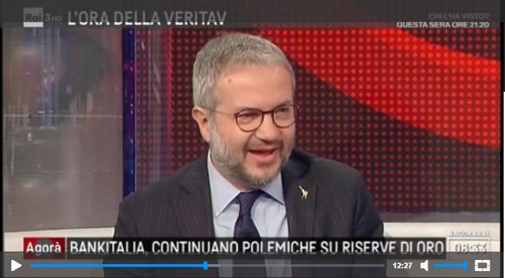 Borghi ad Agorà: Attacchi a Conte, Oro della Banca d'Italia e TAV