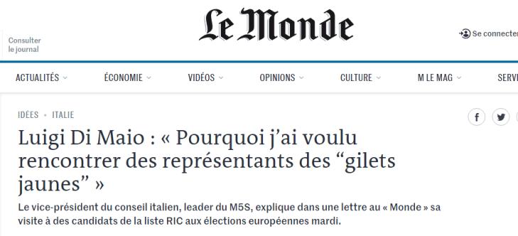 Gli amici si rispettano, i sudditi no. Ecco perchè Macron, nel panico, attacca il governo