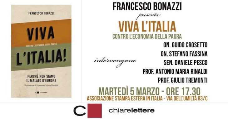 """VIVA L'ITALIA"" di Francesco Bottazzi."