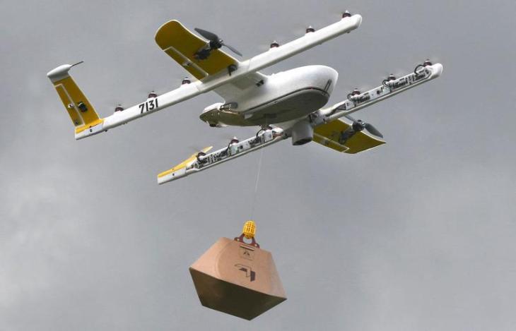 Google attiva il servizio di consegna con drone in Australia (e vi porta anche il caffè..) video