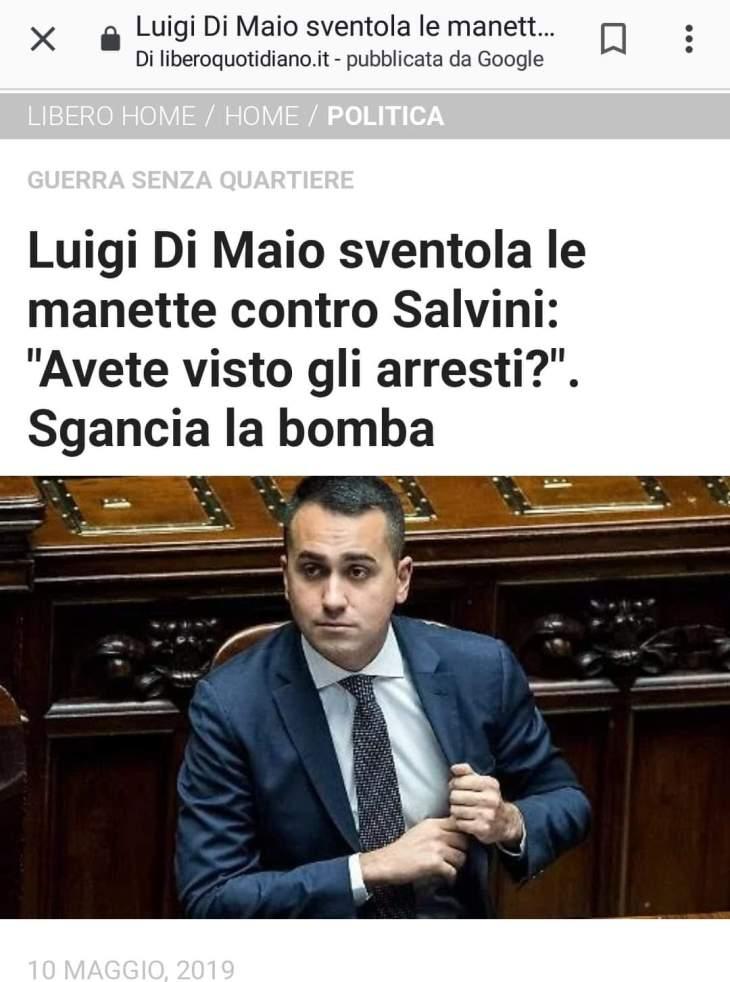OMNIBUS LA7 SANTIFICA I PORTI APERTI E I CLIC ALLE MANETTE