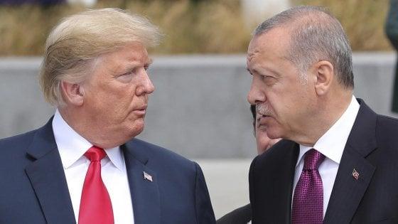 Erdogan vuole rispondere con l'arma del cambio alle sanzioni USA?