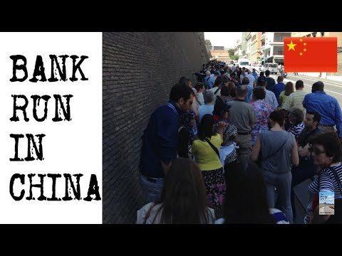 BANK RUN CINESE: UNA BANCA CON 105 MLD US$ DI ATTIVO VICINA A SALTARE