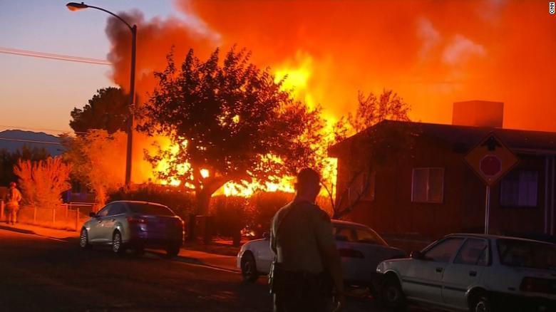 ridgecrest incendio terremoto