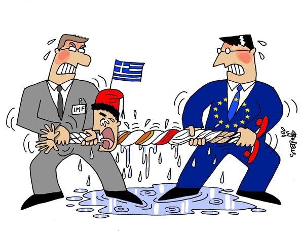 FMI e UE strizzano la Grecia