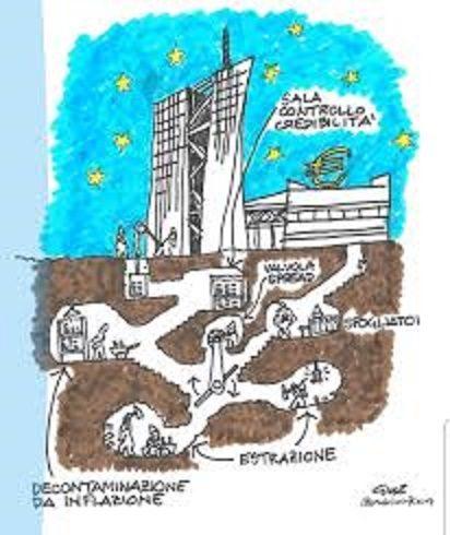IL PROBLEMA DELLA BCE: UNA POLITICA MONETARIA SQUILIBRATA seconda  parte , il QE
