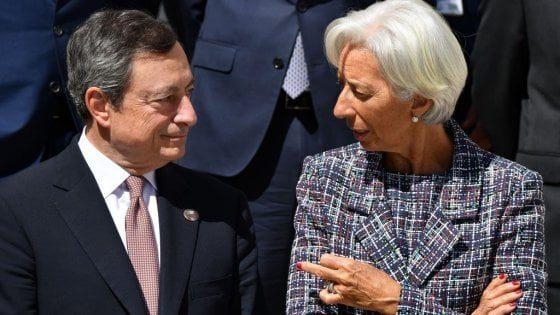 """Draghi parla di MMT e Lagarde di moneta """"bene pubblico"""" che appartiene al popolo  idee come la MMT"""