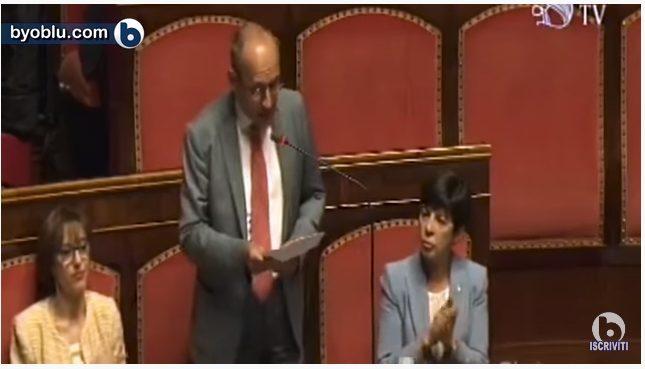 L'INTERVENTO DI BAGNAI AL SENATO  (video Byoblu) Il governo è supino e subalterno all'Europa