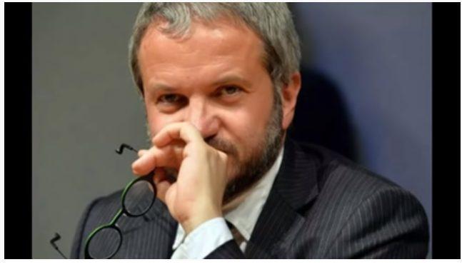 BORGHI: PARLO DI CIO' CHE CONOSCO, ECONOMIA, SOCIETA, con un conduttore molto ostile e piuttosto maleducato