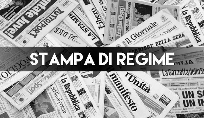 COME TI SOVENZIONO LA STAMPA DI REGIME… e Radio Radicale. Che fai ora Di Maio, voti contro ??