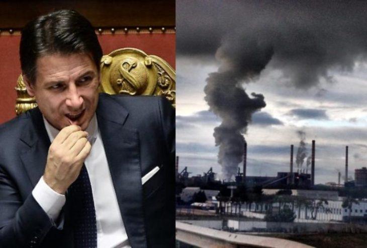 CONTE A TARANTO:  un gesto di rispetto, ma non ha ancora capito quello che manca all'Italia. Non lo capirà mai