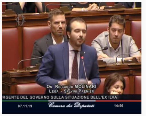 MOLINARI: UN GOVERNO CHE DISTRUGGE L'INDUSTRIA ITALIANA