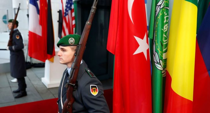 LIBIA: BERLINO CERTIFICA L'ININFLUENZA DELL'EUROPA E LA CANCELLAZIONE DELL'ITALIA