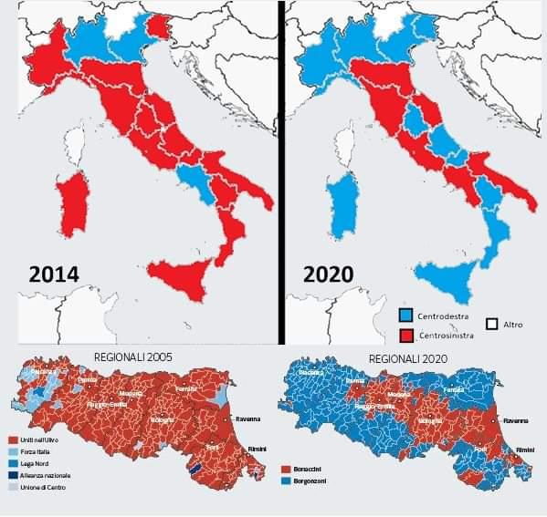 """Emilia-Romagna e Calabria: analisi del voto (di P. Becchi e G. Palma su """"MF-Mercati Finanziari"""")"""