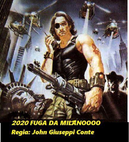 2020, FUGA DA MILANO: regia, il governo dei Gioppini