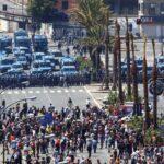 مظاهرات في مجموعة الثماني في جنوة عام 2001