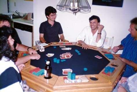Poker night with Pierre Omidyar & Steve Singh