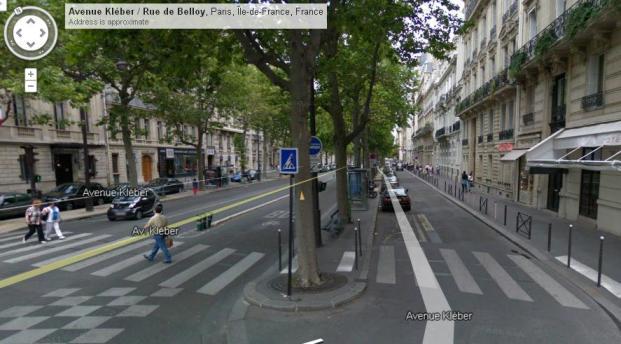 Avenue Kleber in Paris