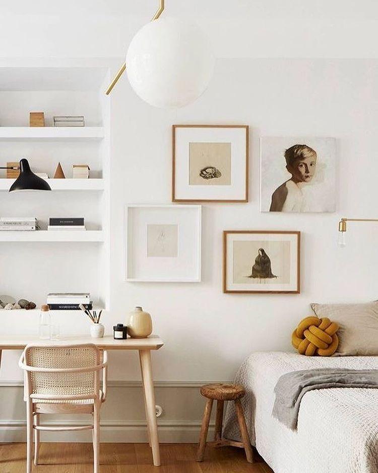 Scandinavian staged room