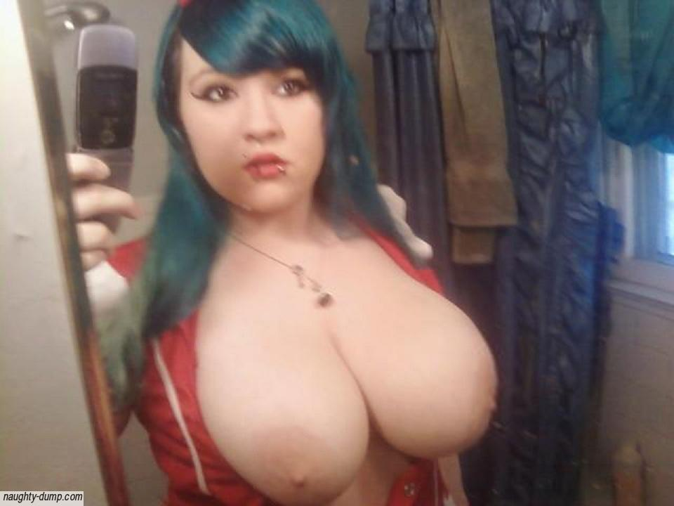Naked female gothic with big tits Big Breasted Goth Teen
