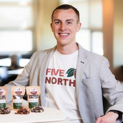 Profile: An Alumnus Tackles Global Challenges With His Bite-Sized Chocolate