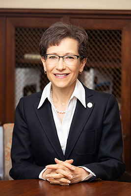 President Denise Battles Portrait Fall 2018