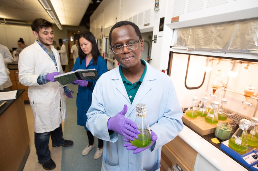 Barnabas Gikonyo lab