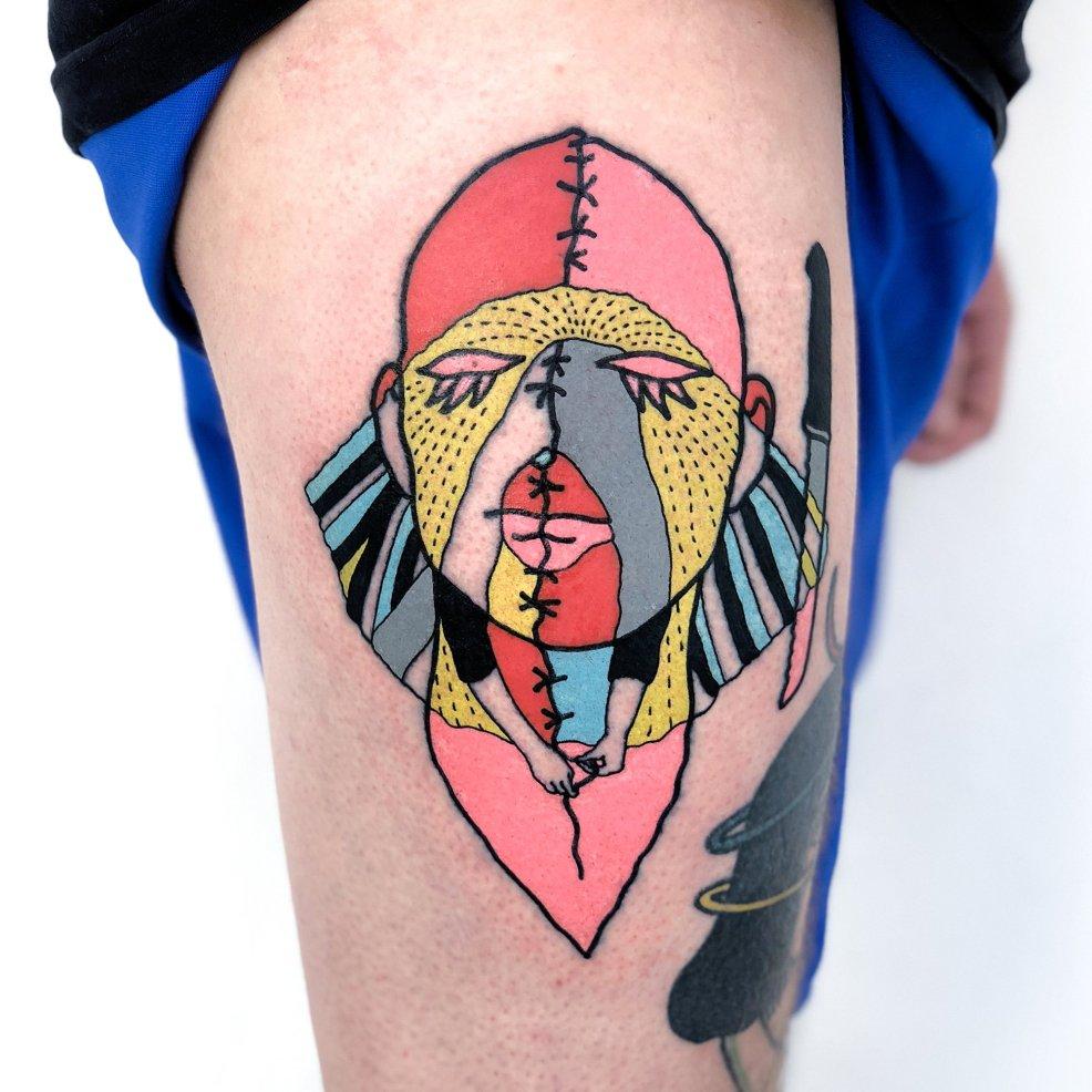 Imrich Kovács Dadaistic Attitude Is Expressed In His Tattoo Art