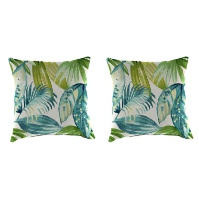 outdoor throw pillows set of 2 assorted styles