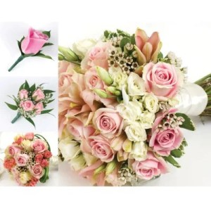 Wedding Flowers   Sam s Club Wedding Collection   Pink  10 pc